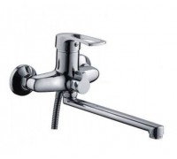 Смеситель для ванной Frap шаровый 40мм переключатель душа в корпусе F22701-В