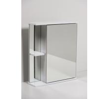 Зеркало шкаф Аква-60 Белый справа